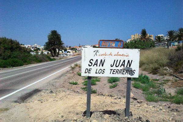 Hoe ga ik naar San Juan de los Terreros